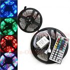 10M 60Leds/M 3528 RGB No-Waterproof Flexible Strip + 44Key IR Remote Controller