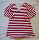 Gymboree WHALE WATCHING Red White Striped Knit Nautical Sailor Dress NWT 5 6 8