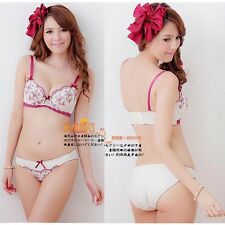 ONE SET BRA New Womens Push Up Lace Bra UnderWire Underwear 32 34 36 B Cup