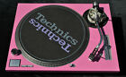 Technics Faceplate for SL1200/1210 MK2 Pink, Face Plate Cover, Pink Face Plate