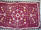 ANTIQUE SILK UZBEK IKAT 250x155-cm / 98.4x61.0-inches
