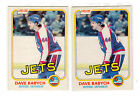DAVE BABYCH 1981-82 OPC #358 RC Rookie Lot NM O Pee Chee Vancouver Canucks Jets