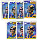 JIM EVERETT 1987 Topps #145 Rookie RC NMMT lot RAMS