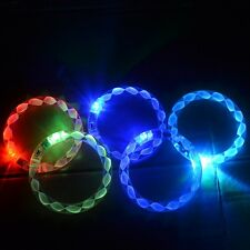 LED Helix Flashing Light Up Glow Fashion Rave Party Bracelet Bangle Wristband