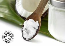 Coconut Oil, Organic, Natural, Refined, Solid Oil, 50gm - Kilo FREE UK Shipping