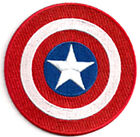 """Captain America Shield 3.5"""" Embroidered Movie Patch- FREE S&H (CAPA-03)"""
