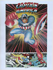 CAPTAIN AMERICA POSTER Thought Factory 1977 Marvel