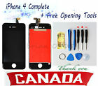 Canada Replacement Touch Screen LCD Digitizer Assembly For Black iPhone 4 New