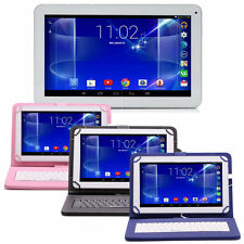 "iRULU 10.1"" Android 5.1 Lollipop Quad Core WIFI Tablet PC 1GB/16GB w/ Keyboard"