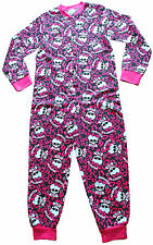 Monsters HIGH Sleepsuit 4 a 10 anni Monsters High tutto in un unico 100% COTONE ROSA