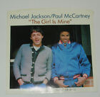 MICHAEL JACKSON & PAUL McCARTNEY, The Girl Is Mine 45rpm + Picture Sleeve