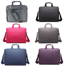 "15.4"" Padded Laptop Shoulder Bag Widescreen Carry Case Notebook Briefcase"