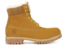 Timberland 6 Inch Fur Linded 18027 New Mens Wheat Winter Snow Boots Shoes