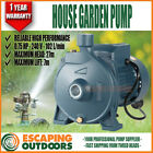 Pump 240v Head 10m 6180 L/hr, Single Phase .75 HP Farm House Garden