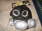 NWT NEW Adult size Zombie Gas mask costume prop steampunk unique FREE SHIPPING