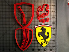 Ferrari Logo Cookie Cutter