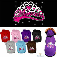 Dog Clothes Princess Coat Hoodie Sweater Jacket for Dog Dogs Puppy Cotton