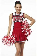 Ladies Glee Cheerleader School Girl Fancy Dress Uniform Party Costume Outfit 307