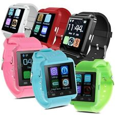 U8 Sports Smart Wrist Watch Bracelet Bluetooth Phone Mate For IOS Android