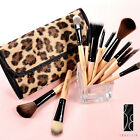 12 Pcs Make Up Cosmetic Brushes Set w/Case