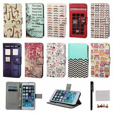 FL New Leather Wallet Case Card Holder Stand Cover for Samsung S3 S4 HTC LG