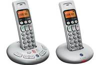 New - BT Graphite 3500 Twin Cordless Home Phone with Answering Machine