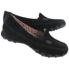 New Women's Skechers 48930 Relaxed Fit Bikers Pedestrian Slip On Casual Shoes