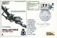 Dambusters RAF Scampton FDC signed by Richard Todd UACC
