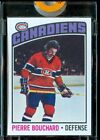1976-77 Topps Vault Proof Pierre Bouchard Canadiens