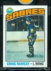 1976-77 Topps Vault Hockey Proof Craig Ramsey Sabres