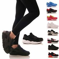 LADIES WOMENS TRAINERS SPORTS RUNNING GYM FITNESS EXERCISE FASHION SHOES SIZE