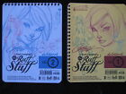 J SCOTT CAMPBELL RUFF STUFF 2 SKETCHBOOK SET FROM 2012 VERTICAL & HORIZONTAL