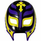 WWE REY MYSTERIO BLACK/GOLD/VIOLET PLASTIC MASK OFFICIAL NEW