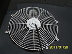 16 INCH LOW PROFILE CHROME HIGH PERFORMANCE THERMO FAN
