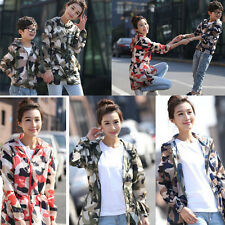 Womens  Sun Protection Clothing Beach Cover Hoodie Shirts Tops Camouflage Color