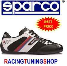SCARPE SPARCO TIME 77 NERE/BIANCHE - SPARCO SHOES TIME 77 CHAUSSURES SCHUHE BOOT