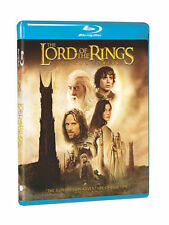 NEW LORD OF THE RINGS TWO TOWERS  2 BLU RAY SET W/HDUV FREE FAST 1ST CLS S&H