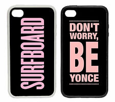 Beyonce Inspired Designs - Rubber and Plastic Phone Cover Case