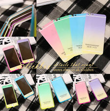 Luxury Aluminum Ultra-thin Rainbow Color Case Cover for iPhone 5/ 5s/ 6/ 6 Plus