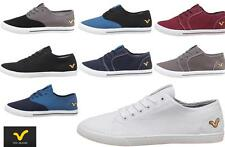 MENS VOI JEANs CANVAS SHOES PUMPS TRAINERS SKATE SHOES PLIMSOLES Sz 6-12