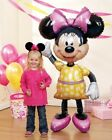 "MINNIE Mouse Ears 54"" Air WALKER AIRWALKER JUMBO Birthday Party Mylar Balloon"