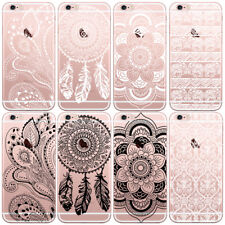 Ultra Thin Crystal Clear Painted Soft TPU case For iPhone 4/4s/5c/5s/6 Samsung