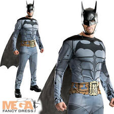 Arkham City Batman Supereroe Da Uomo Costume Halloween Adulti Costume Outfit