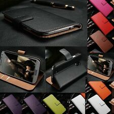 PU Leather Wallet Flip Card Holder Case Cover For Apple iPhone 4 4S 5S 6 6 Plus