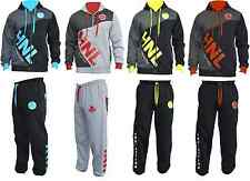 BOYS GIRLS TRACKSUIT HOODED TOP JOGGING BOTTOMS KIDS JOGGING SUITS AGE 9 TO 12