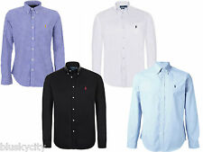 Polo Ralph Lauren camicia uomo maniche lunghe slim fit men shirts S M L XL XXL