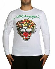 """Ed Hardy Men's """"Panther"""" Graphic T-shirt, White"""