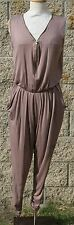Plus size jumper/jumpsuit, black or mocha, size 2XL, solid, made in USA