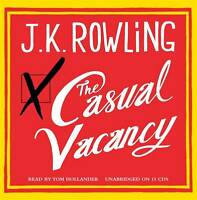 The Casual Vacancy, J. K. Rowling, New Book