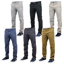 new mens Chino jeans trousers bottoms slim fit pants Stallion designer casual